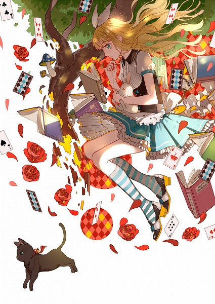Tags: Anime, Pixiv Id 9735633, Alice in Wonderland, Alice (Alice in Wonderland), Pixiv, Original, Mobile Wallpaper