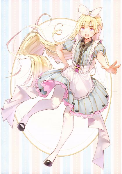 Tags: Anime, Ds Mairu, Alice in Wonderland, Rainbow Note, Alice (Alice in Wonderland), Scan, Comic Market 91