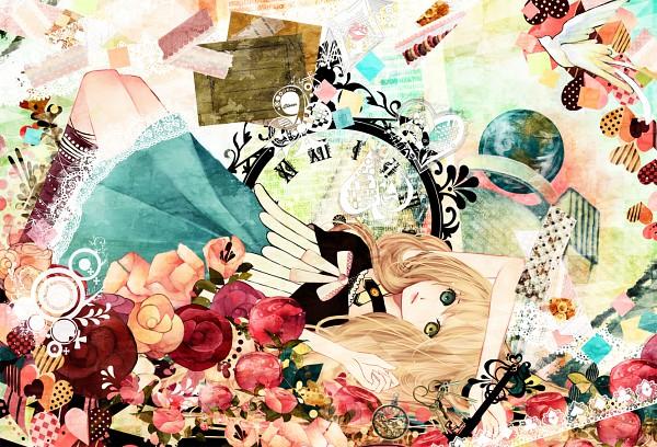 Tags: Anime, Mutou Shino, Alice in Wonderland, Alice (Alice in Wonderland), Fanart, Pixiv