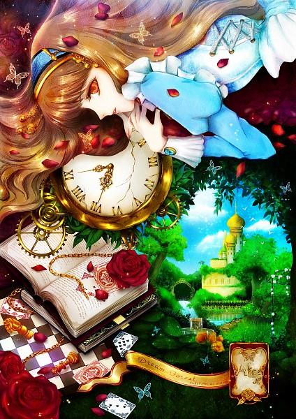 Tags: Anime, yuki*Mami, Alice in Wonderland, Alice (Alice in Wonderland), Pixiv, Mobile Wallpaper
