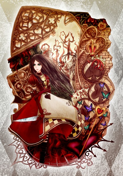 Tags: Anime, Pixiv Id 626729, American McGee's Alice, American McGee's Alice: Madness Returns, Alice (American McGee's), Fanart From Pixiv, Mobile Wallpaper, Pixiv, Fanart