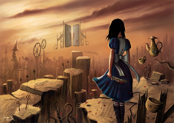 Tags: Anime, Jerry8448 (Artist), American McGee's Alice: Madness Returns, American McGee's Alice, Alice (American McGee's), deviantART, Fanart From DeviantART, Fanart