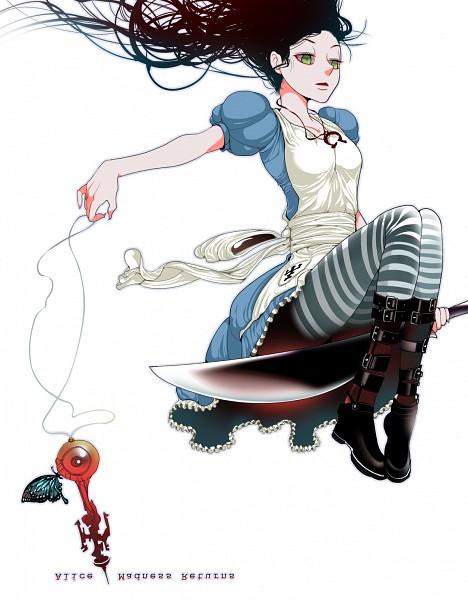 Tags: Anime, Angorilla, American McGee's Alice: Madness Returns, American McGee's Alice, Alice (American McGee's), Pixiv, Fanart, Fanart From Pixiv