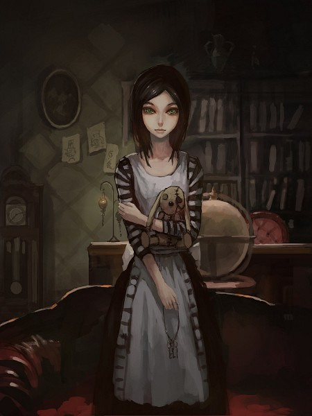 Tags: Anime, Gjred, Alice in Wonderland, American McGee's Alice, American McGee's Alice: Madness Returns, Alice (American McGee's), Fanart, Fanart From Pixiv, Pixiv