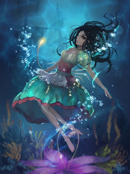 Tags: Anime, Gjred, Alice in Wonderland, American McGee's Alice: Madness Returns, American McGee's Alice, Alice (American McGee's), Pixiv, Fanart, Fanart From Pixiv