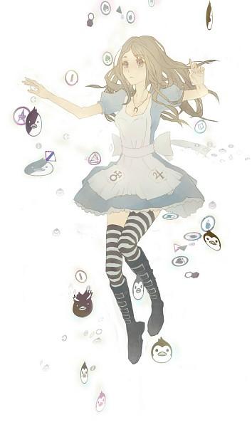 Tags: Anime, Pixiv Id 2678021, Alice in Wonderland, American McGee's Alice, American McGee's Alice: Madness Returns, Alice (American McGee's), Buckle Boots, Mawaru Penguindrum (Parody), Fanart, Fanart From Pixiv, Pixiv, Mobile Wallpaper