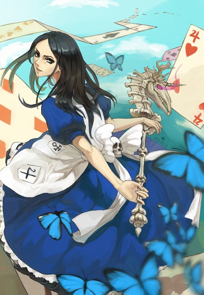 Tags: Anime, Pixiv Id 580942, American McGee's Alice: Madness Returns, American McGee's Alice, Alice (American McGee's), Mobile Wallpaper, Pixiv, Fanart