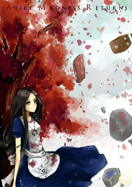 Tags: Anime, Kuwa (Katko), American McGee's Alice: Madness Returns, American McGee's Alice, Alice (American McGee's), Mobile Wallpaper, Pixiv, Fanart