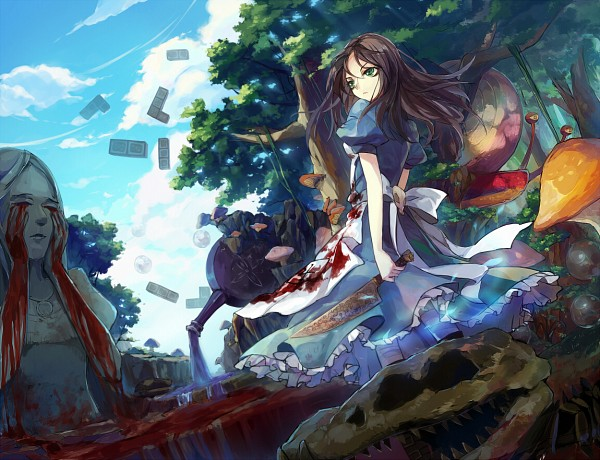 Tags: Anime, Hime03, American McGee's Alice: Madness Returns, American McGee's Alice, Alice (American McGee's), Snail, Domino, Pixiv, Fanart From Pixiv, Fanart