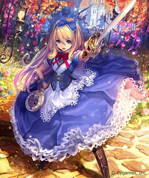 Tags: Anime, Master Bimo, Cygames, Shingeki no Bahamut, Alice (Shingeki no Bahamut), Official Art, Official Card Illustration