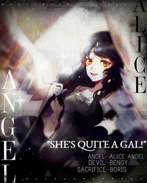 Tags: Anime, Pixiv Id 13352811, Bendy and the Ink Machine, Alice Angel (Bendy and the Ink Machine), Fanart, Fanart From Pixiv, Pixiv