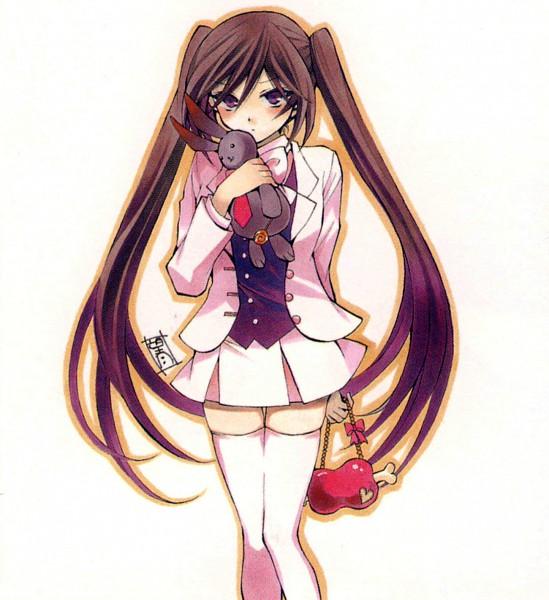 Tags: Anime, Mochizuki Jun, Pandora Hearts, Pandora Hearts ~Odds And Ends~, Alice Baskerville, Scan, Official Art