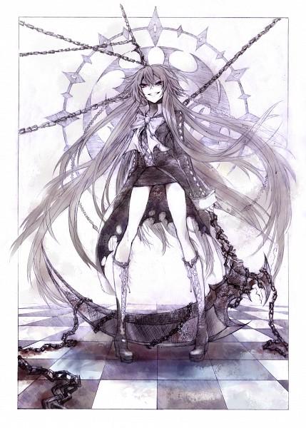 Tags: Anime, Skiyo, Pandora Hearts, Alice Baskerville, Redingote, Mobile Wallpaper