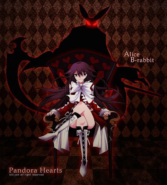 Tags: Anime, Killyoh, Pandora Hearts, B Rabbit, Alice Baskerville, Pixiv, Fanart
