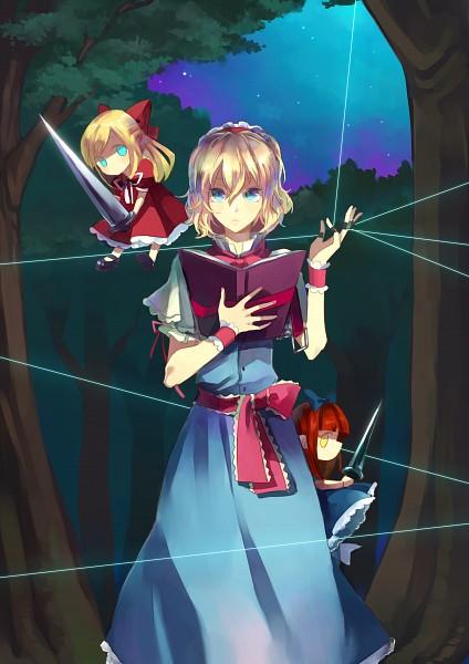 Tags: Anime, Cerumia, Touhou, Alice Margatroid, Hourai, Fanart From Pixiv, Fanart, Pixiv