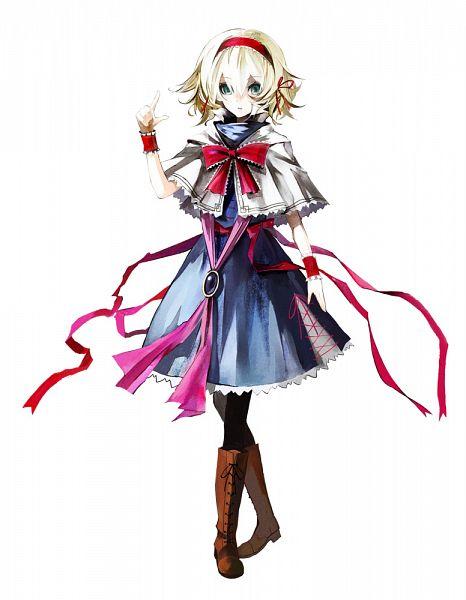 Tags: Anime, Banpai Akira, ZUN, Frontier Aja, Scarlet - The Legendary Castle, Koumajou Densetsu, Touhou, Alice Margatroid, Official Art