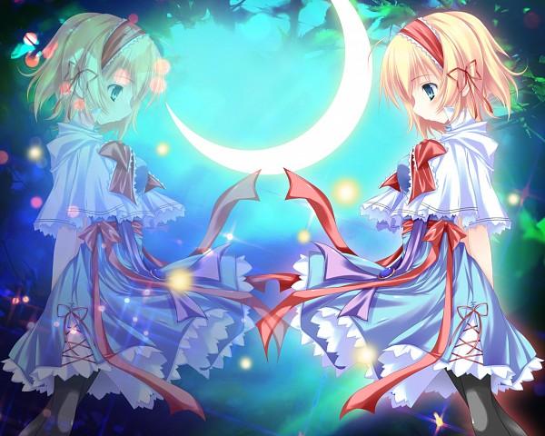 Tags: Anime, Nanaroba Hana, Touhou, Alice Margatroid, Wallpaper