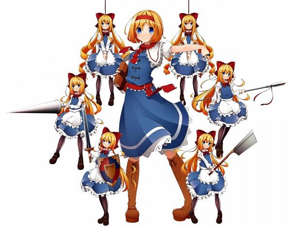 Tags: Anime, Kinakomoti, Touhou, Shanghai, Alice Margatroid