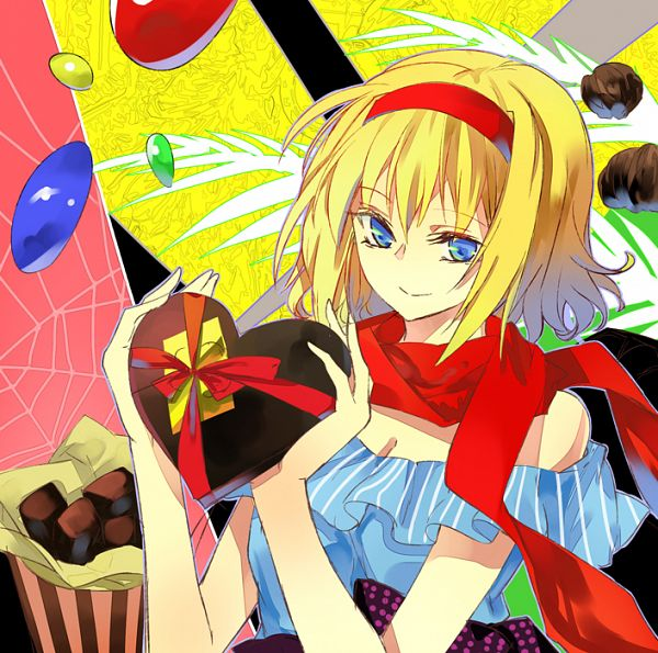 Tags: Anime, Tsurukame, Touhou, Alice Margatroid, Fanart From Pixiv, PNG Conversion, Fanart, Pixiv