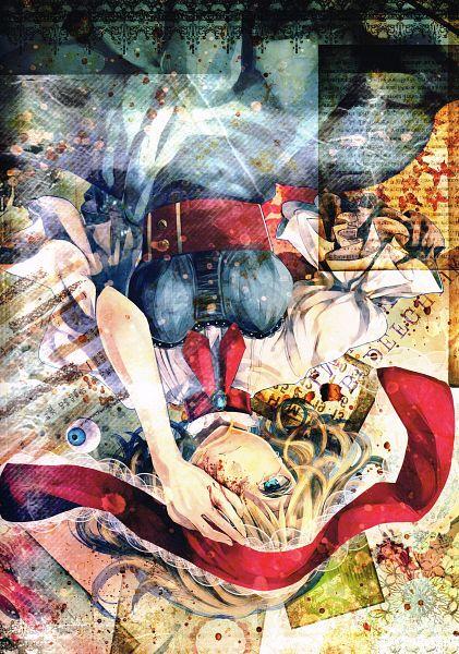 Tags: Anime, Silentdin, Lose (Artbook), Touhou, Alice Margatroid, Eyeball, Fanart, Scan