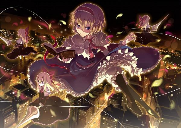 Tags: Anime, Kikugetsu, Touhou, Alice Margatroid, Shanghai, Pixiv, Fanart From Pixiv, PNG Conversion, Fanart