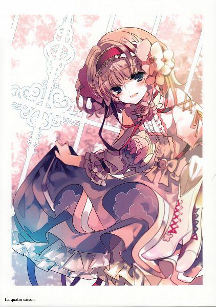 Tags: Anime, Ra-bit, La Quatre Saison, Touhou, Alice Margatroid, PNG Conversion, Fanart, Mobile Wallpaper, Comic Market, Scan, Comic Market 89