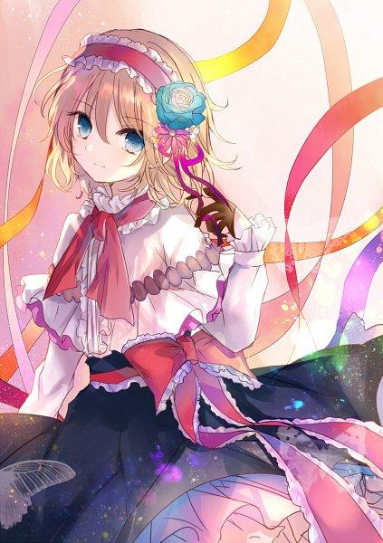 Tags: Anime, Kazu Muchuukai, Touhou, Alice Margatroid, Pixiv, Fanart From Pixiv, Fanart