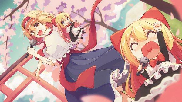 Tags: Anime, Pixiv Id 12495418, Touhou, Alice Margatroid, 4K Ultra HD Wallpaper, HD Wallpaper, Wallpaper