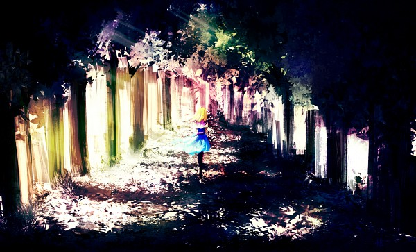 Tags: Anime, Urami, Alice in Wonderland, Touhou, Alice Margatroid, Fanart, Pixiv, Fanart From Pixiv