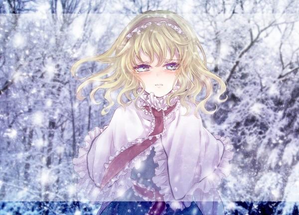 Tags: Anime, Neme, Touhou, Alice Margatroid, Pixiv, Fanart From Pixiv, Fanart