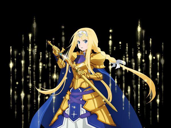 Tags: Anime, Bandai Namco Entertainment, Sword Art Online, Sword Art Online: Alicization Blading, Alice Schuberg, Official Art, Alice Zuberg