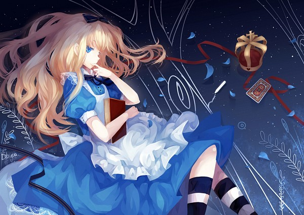 Tags: Anime, Dhiea (Pixiv270545), Alice in Wonderland