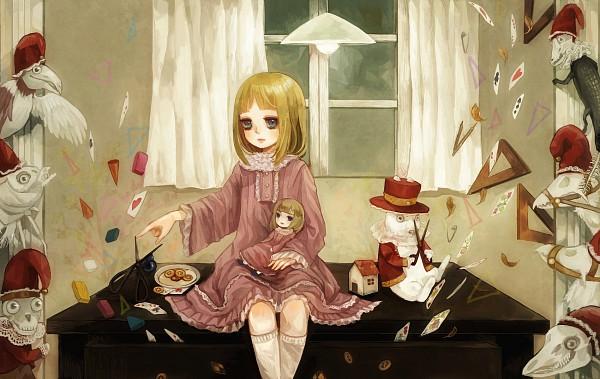 Tags: Anime, YuJuP, Alice in Wonderland, Alice (Alice in Wonderland), White Rabbit, Pixiv