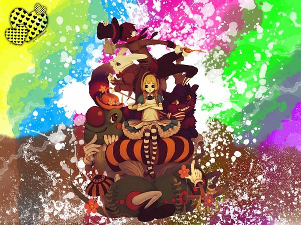 Tags: Anime, Alice in Wonderland, Alice (Alice in Wonderland), Mad Hatter, Cheshire Cat, Caterpillar (Alice in Wonderland)