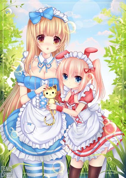 Tags: Anime, Duji Amo, Alice in Wonderland, Alice (Alice in Wonderland), Mobile Wallpaper