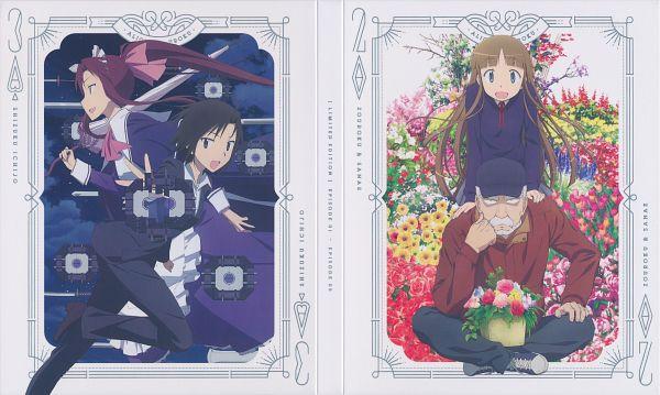 Tags: Anime, Iwakura Kazunori, J.C.STAFF, Alice to Zouroku, Ichijou Shizuku (Alice to Zouroku), Kashimura Sanae, Kashimura Zouroku, Scan, DVD (Source), Official Art, Wallpaper, Character Request