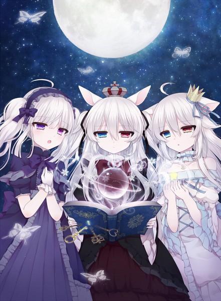 Tags: Anime, Alicerabbit, Roro Nowaru, Eve Astroel, Alice Claudia, Lolita Headband, Original, PNG Conversion