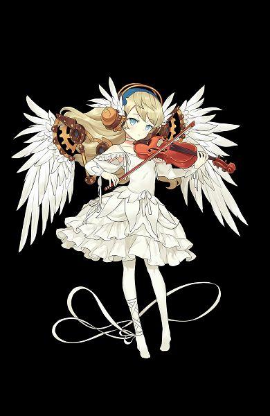 Tags: Anime, Kuroboshi Kouhaku, Princess Principal GOM Production, Princess Principal GAME OF MISSION, Alicia Northernend, Steampunk, Playing Violin, Official Art
