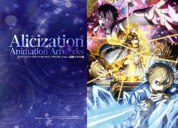 Alicization Animation Artworks - Sword Art Online: Alicization