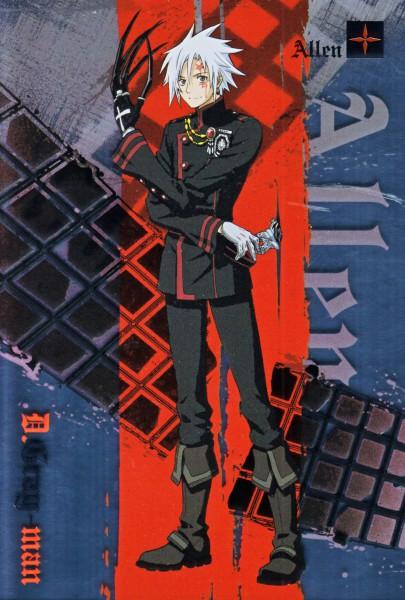 Tags: Anime, D.Gray-man, Allen Walker, Official Art, Mobile Wallpaper