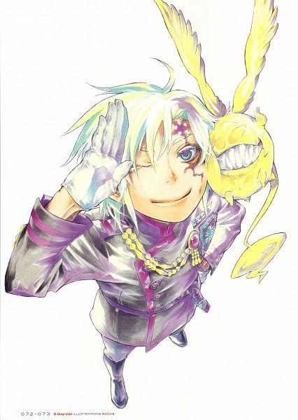Tags: Anime, Hoshino Katsura, D.Gray-man, Noche - D.Gray-man Illustrations Artbook, Timcanpy, Allen Walker, Exorcist, Scan, Mobile Wallpaper, Official Art