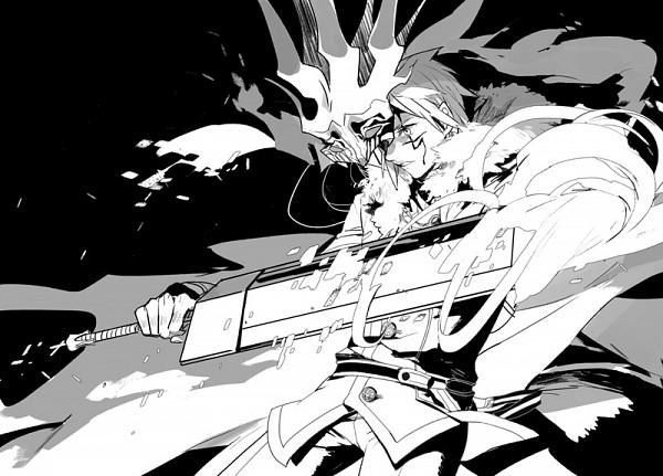 Tags: Anime, Ginmu, D.Gray-man, Allen Walker, Crown Clown (Innocence), Fanart From Pixiv, Fanart, Pixiv