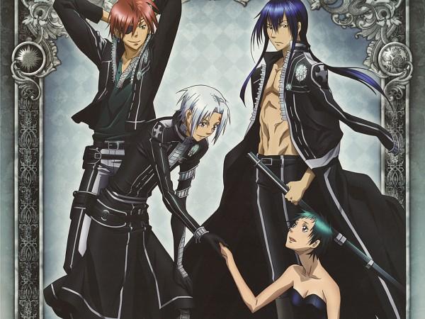 Tags: Anime, D.Gray-man, Lenalee Lee, Kanda Yuu, Lavi, Allen Walker, Wallpaper