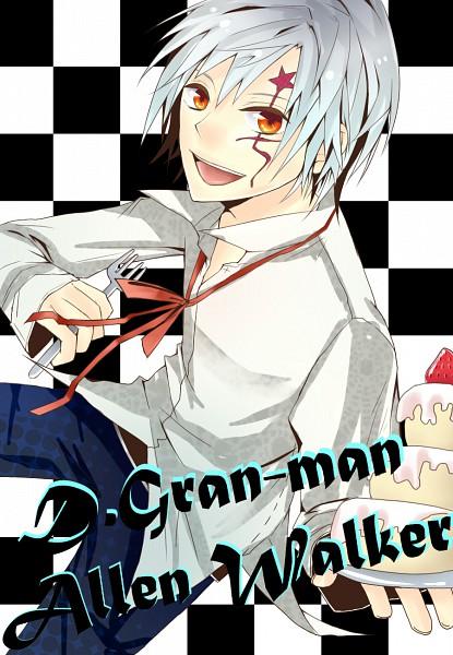 Tags: Anime, Pixiv Id 1728466, D.Gray-man, Allen Walker, Mobile Wallpaper, Fanart, Pixiv