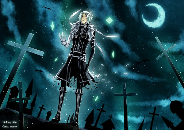 Tags: Anime, Pixiv Id 2171620, D.Gray-man, Allen Walker, Graveyard, Fanart, Pixiv