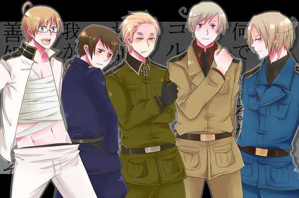 Tags: Anime, Pixiv Id 1383882, Axis Powers: Hetalia, United States, Russia, China, France, United Kingdom, South Italy (Cosplay), Japan (Cosplay), Prussia (Cosplay), Germany (Cosplay), North Italy (Cosplay)