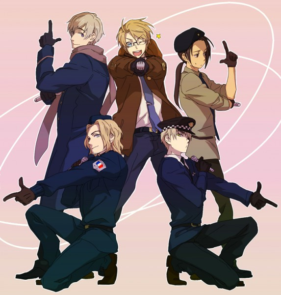 Allied Forces - Axis Powers: Hetalia