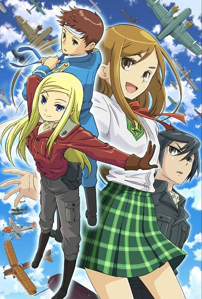 Tags: Anime, Allison Series, Wilhelm Schultz, Treize Bain, Allison Whittington, Lillia Schultz, Official Art