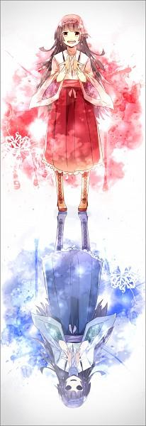 Tags: Anime, Pixiv Id 6695554, Hunter x Hunter, Nanika, Alluka Zoldyck, Different Reflection, Fanart From Pixiv, Pixiv, Fanart