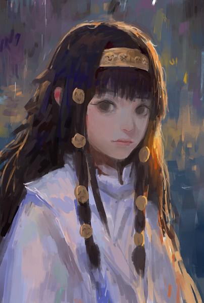 Tags: Anime, Pixiv Id 4480561, Hunter x Hunter, Alluka Zoldyck, Mobile Wallpaper